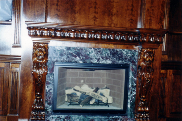 Royal Furniture Refinishing -- Toronto -- Repairs, restorations and refinishing services - Faux marble and wood stain finish.